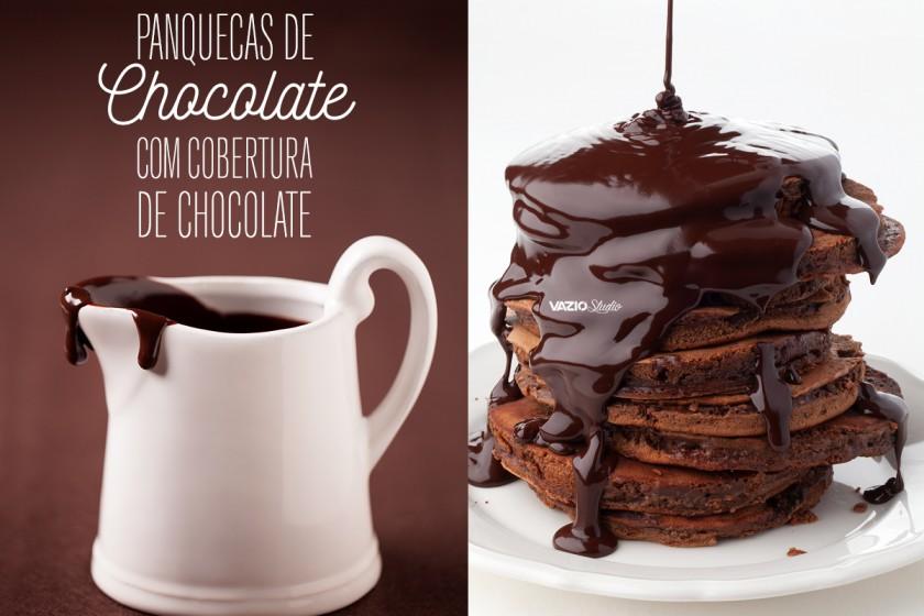 Panquecas de Chocolate Saliva.pt