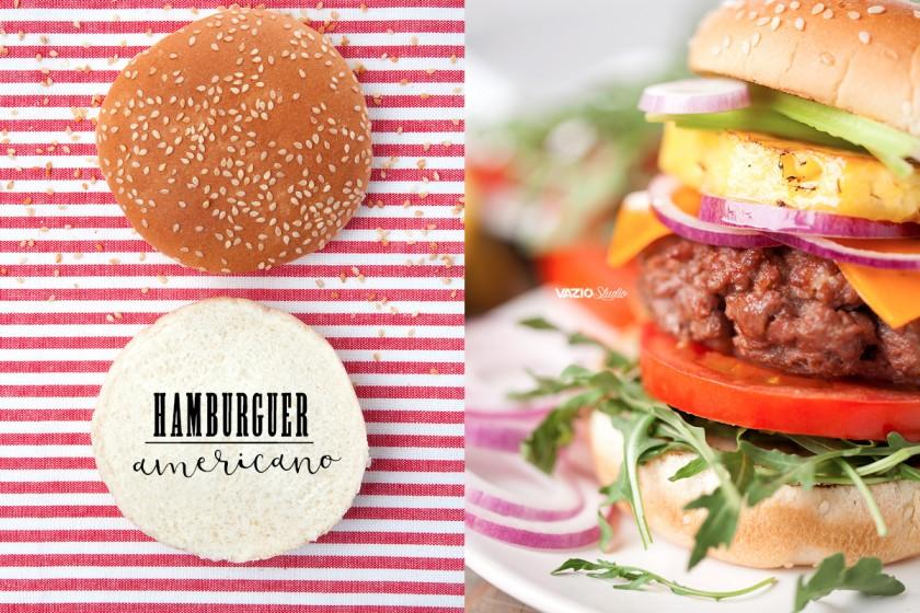 Hambúrguer AmericanoSaliva.pt